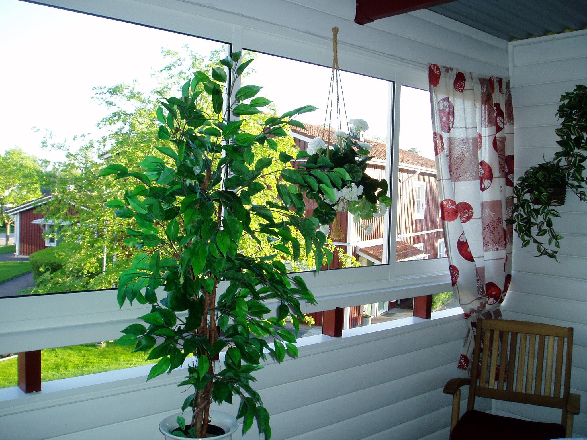 Insida av balkong